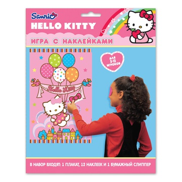 Игра с наклейками Hello Kitty/А